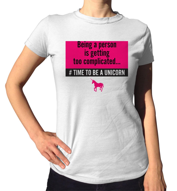 Unicorn Shirt Unicorn Party Graphic Tee College Teen