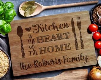 Custom Cutting Board, HOME sweet HOME, Kitchen sign,  Custom Engraved Board, custom cutting board, kitchen sign (149)