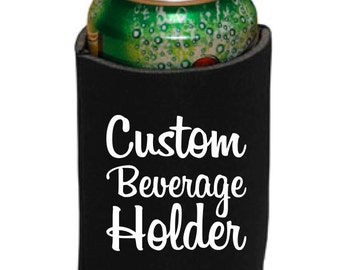 Custom Beverage Holder   Choose Your Fonts, Graphics & Colors