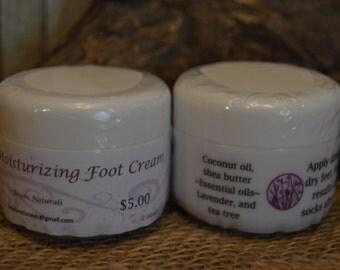Moisturizing Foot Cream 2 oz jar