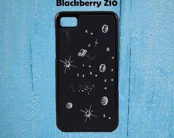 Cute Planets And Stars Phone Case Blackberry Z10 case Z10 Phone Case Z10 BlackBerry z10 Phone Case Tumblr Case