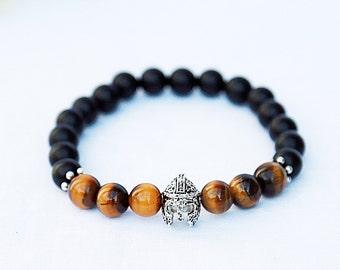 mens bracelet Gift for men bracelet for men helmet bracelet helmet Jewelry Warrior Bracelet Spartan Bracelet Gladiator Bracelet Knight