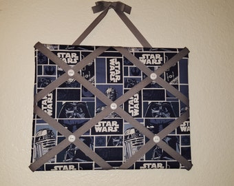 Star Wars Photo Memory Board