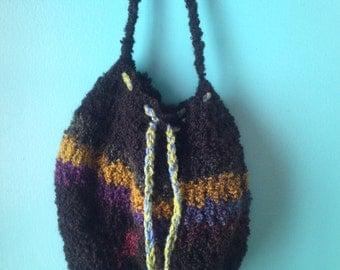 Handmade drawstring pouch