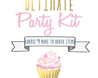 Ultimate Party Kit - Choose 9 Items - Party Pack