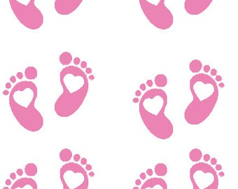 Baby foot prints | Etsy