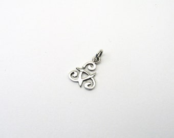 Sweet silver Celtic Triskele Triskilian 925 jewellery charms