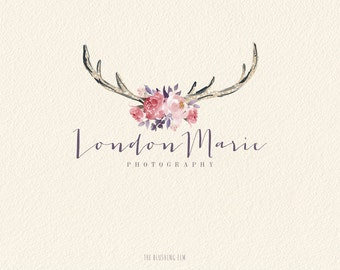 Rustic Logo, Premade Logo, Graphic Design, Business Logo, Logo Design, Photography Logo