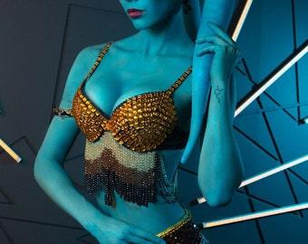 Twi'lek slave dancer burlesque costume