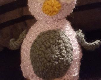 Crocheted penquin