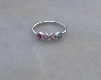 Birthstone Ring, Mothers Ring, Family Ring, Personalized Ring, Custom Ring,