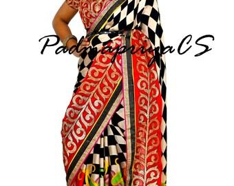 Party wear saree, Style diva, stylish sarees, 2016