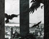 The Black Tower Print