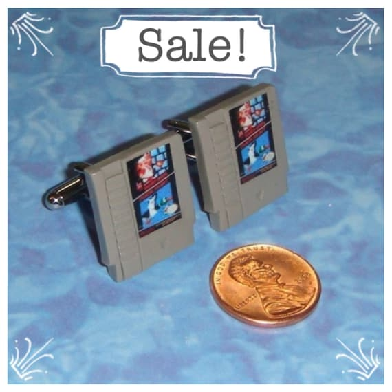 CUFFLINKS Nintendo Game Cartridge  - Choose any 2 games you want for your set