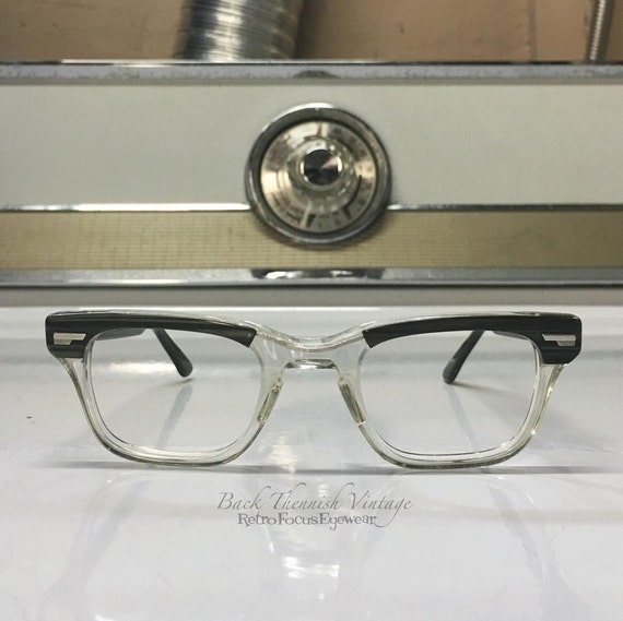 Vintage Shuron Eyeglass Frames : Shuron 60s True Vintage Eyeglass Frames Hornrim Madmen