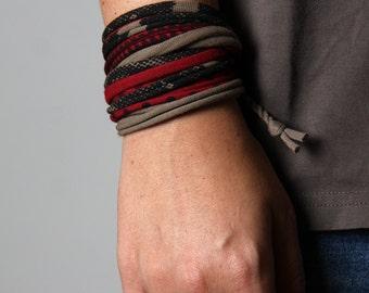 Red Bracelet, Brown Bracelet, Bracelet, Mom, Aunt, Sister, Girlfriend, Best Friend, Womens, Womens Gift, Gift For Her, Gift, Wife, Grandma