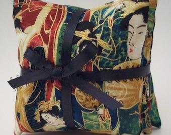 Lavender Aromatherapy Sachet - Moth Repellent Dresser Sachet - Classic Lavendar Sachets - Graceful Geisha Drawer Freshener - Gifts for Women