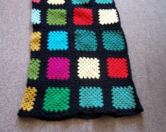 Glass Stain Crocheted Long and Short Skirt Pattern