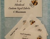 Small Quantity Sew On Cotton Custom Clothing Labels 6 Maximum