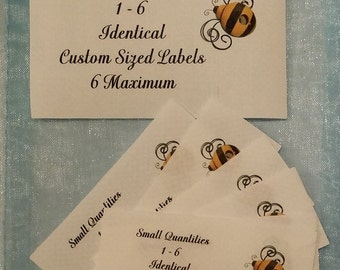 Sample Package Sew On Cotton Custom Clothing Labels 6 Maximum