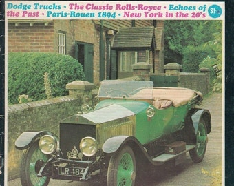 March/April 1966 Old Motor Magazine Dodge Trucks Classic Rolls Royce Articles