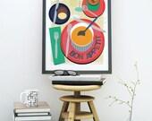 Food Art, Dining Room Art...