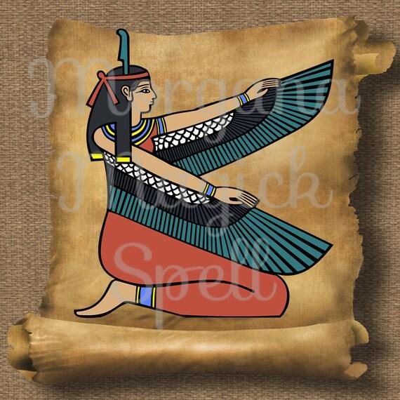 Goddess Isis Royalty Free Clipart