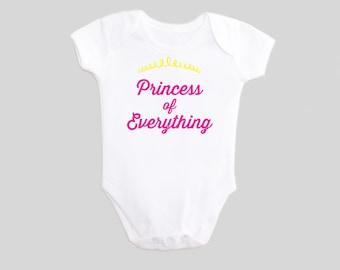 Girls Princess of Everything - Baby - Girls Princess - Bodysuit