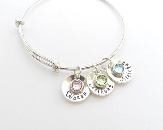 Name Disc Bangle
