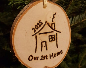 Our First Home Ornament (2017)