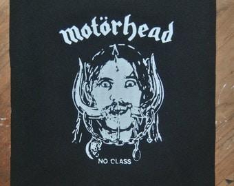 Motörhead No Class Lemmy Patch