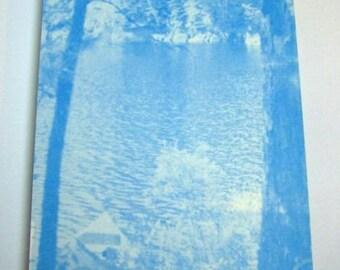 Minnesota Notepad Outdoor Lake Photo Notepads, Souvenir Boundary Waters Canoe Area BWCA pads