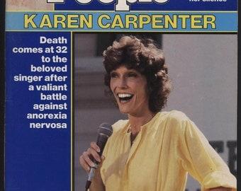Karen Carpenter People Magazine