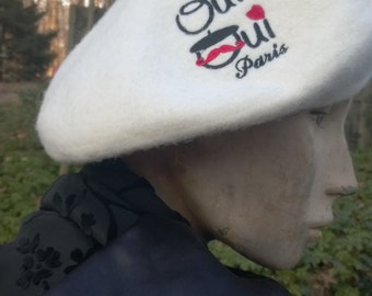 SALE Hat French Beret Paris Support our French family  friends Oui Oui Paree