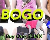 The SLINX BOGO Free Fleece Pajama w Sling purchase Great new Kitten & 8 dollars off Cat Carrier Pet Lover Made in *USA cat clothes