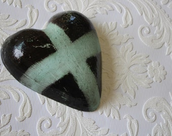 Small Cross Heart by the Monster Company