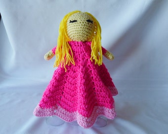 Aurora Inspired Lovey/Security Blanket