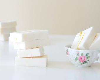 Vegan Shea Citrus Soap bar/ Ultra Moisturizing Soap bar (4 oz. each) (free Shipping)