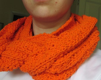 Convertible cowl scarf
