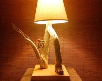 "Driftwood Lamp"" One Two Buckle My Shoe"""