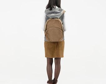 Black canvas Backpack,Khaki Rucksack,travel bag,School bag,canvas backpack,School Backpack,book bag