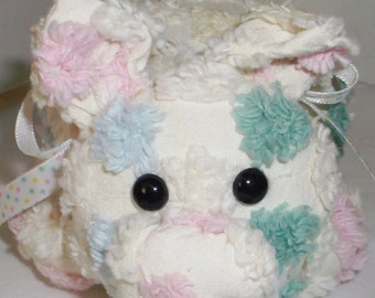 Spotted Chenille Pig