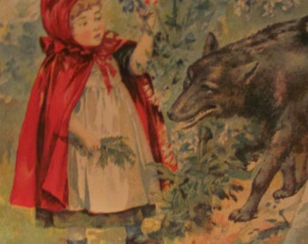 1903 'Fairy Tales In Easy Words' published by Mc Loughlin Brothers NY