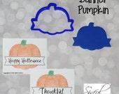Banner Pumpkin Cookie Cutter