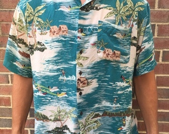 Vintage Hawaiian Shirt