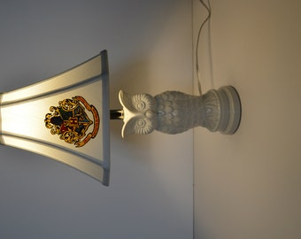 Harry Potter Lamp - Hogwarts Crest