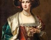 Noblewoman Perfume Oil - Orange Blossom, Vetiver, Amber, Gardenia, Citrus, Star Anise, Jasmine and Honey