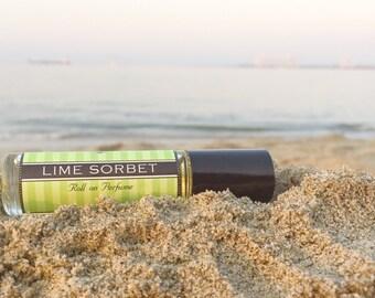 Roll on Perfume || LIME SORBET || Long lasting perfume || vegan perfume