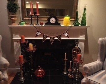 BOO - Halloween Party Banner