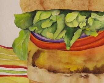 A Biga Burger